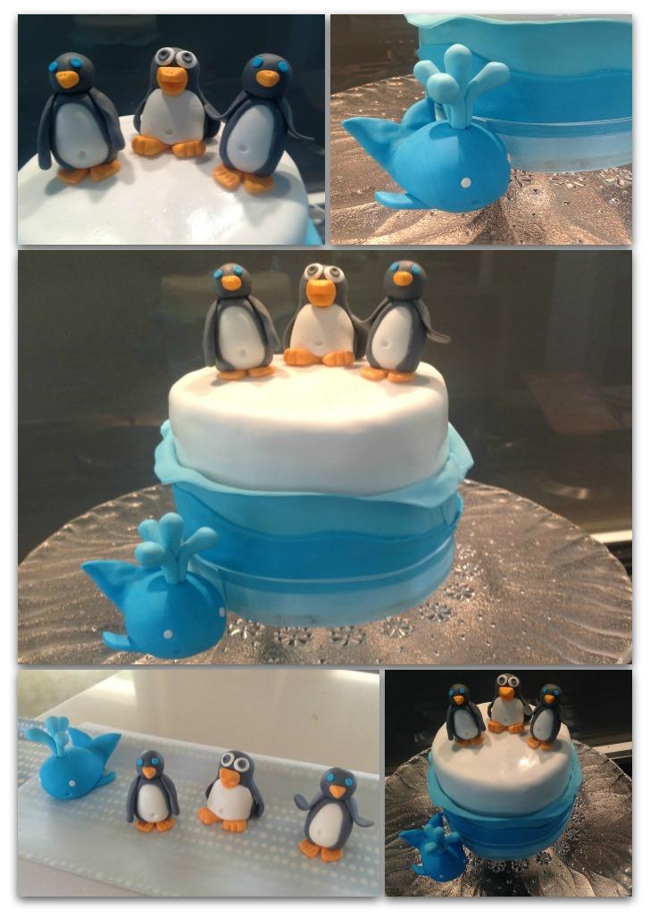 Antartica Birthday Cakes