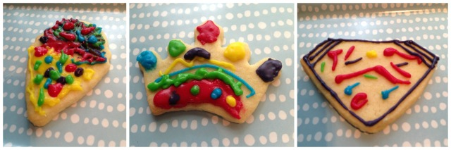 The kids had a go at decorating the cookies as well!