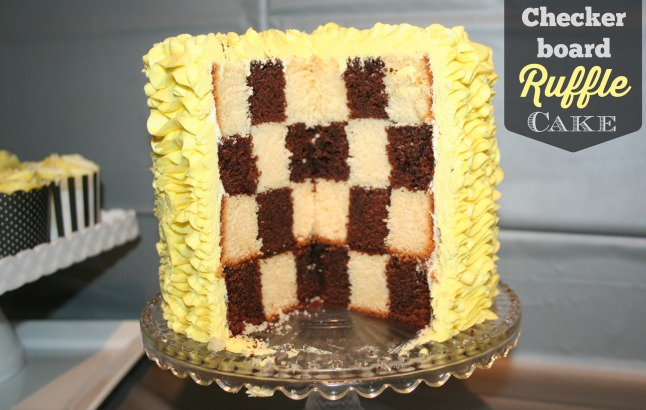 checker board cake1