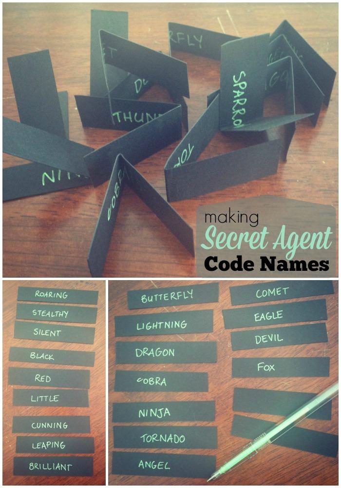 Secret Agent Party Games