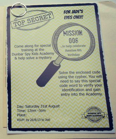 spy invite 5