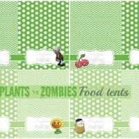 Plants vs Zombies Party Printables