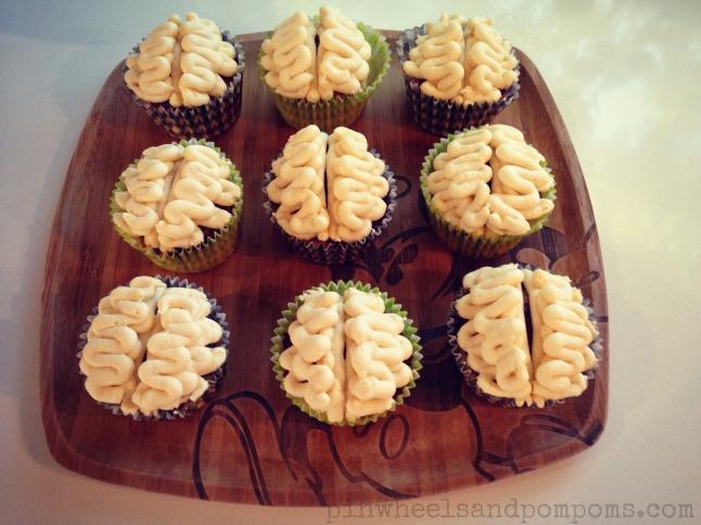 Brain cupcakes |