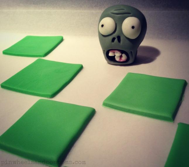 fondant zombie